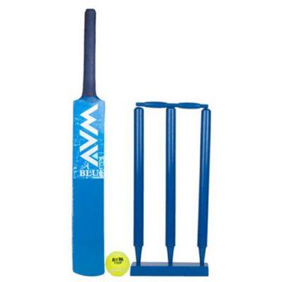 Avm Blue Cricket Set Size - 3