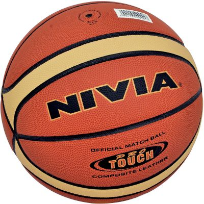 Nivia Pro Touch Basketball - 6 Orange