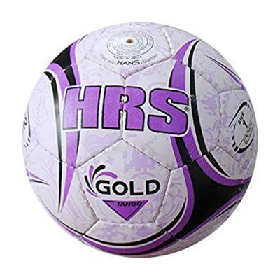 HRS Gold Tango Football - Purple, White & Black - 5
