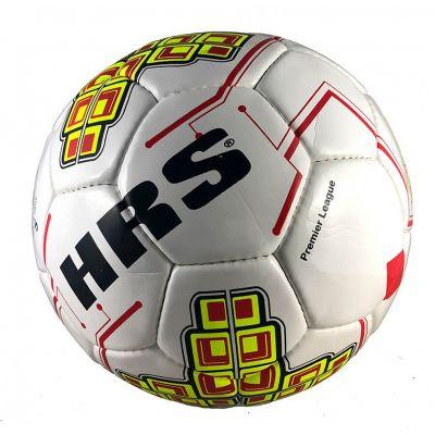 HRS Premier League P.U Football - White & Red - 5