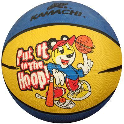 Kamachi Basketball - Yellow & Blue - 3