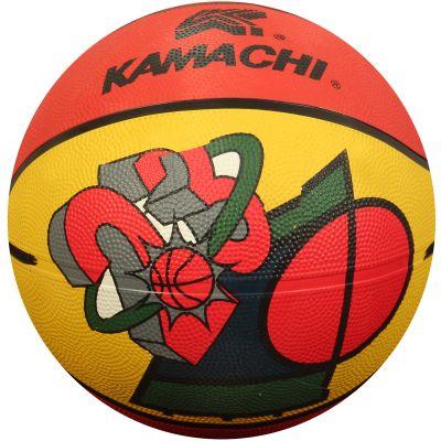 Kamachi Basketball - Orange & Yellow - 7