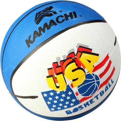 Kamachi Basketball - White & Blue - 7
