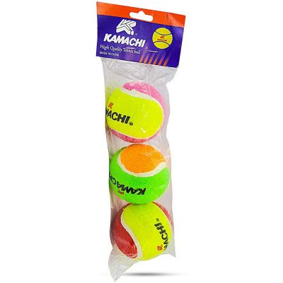 Kamachi Light Cricket Tennis Ball - Pack Of 3
