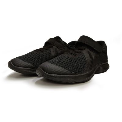 Nike Revolution 4 School Shoe - 1Y to 3Y - Black