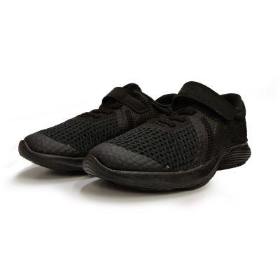 Nike Revolution 4 School Shoe - 1Y to 3Y - Black