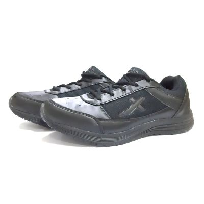 Vector-X Lace School Shoe - 3 UK To 5 UK - Black
