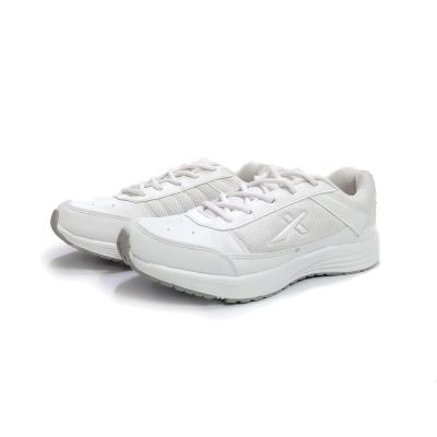 Vector-X Lace School Shoe - 6UK To 11UK - White