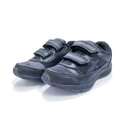 Vector-X Velcro School Shoe - 3Y To 5Y - Black