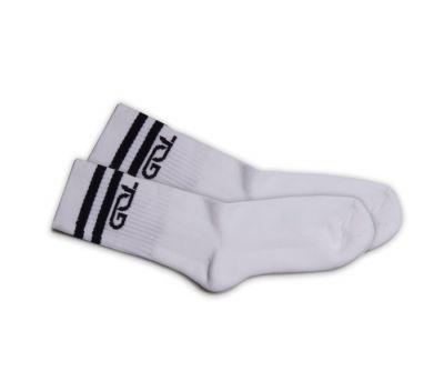 Gopalan International School Socks Crew Length - White (Pack of 3)