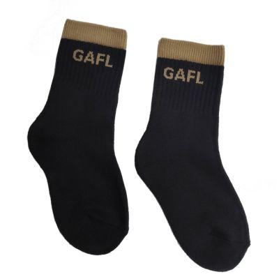 GOL GAFL Dark Brown With GAFL Logo Crew Socks (Pack of 3)