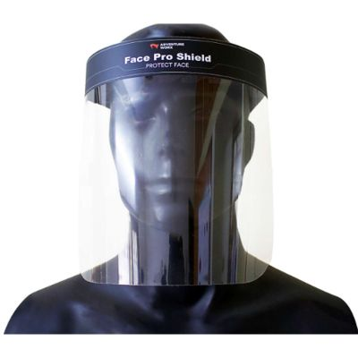 Adventure Worx Face Pro Shield Face Protect Adults - Black (Pack of 3)
