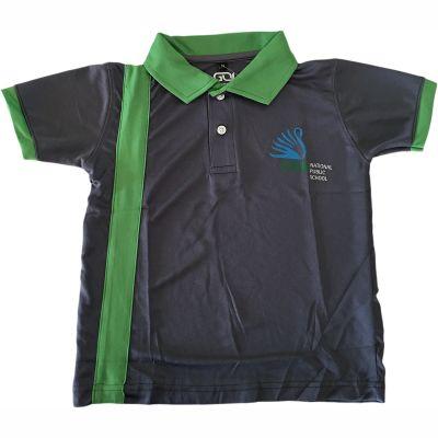 GOL CMR School T-Shirt - Green (Size 38 to 50)