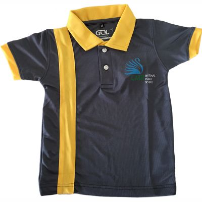 GOL CMR School T-Shirt - Yellow (Size 38 to 50)