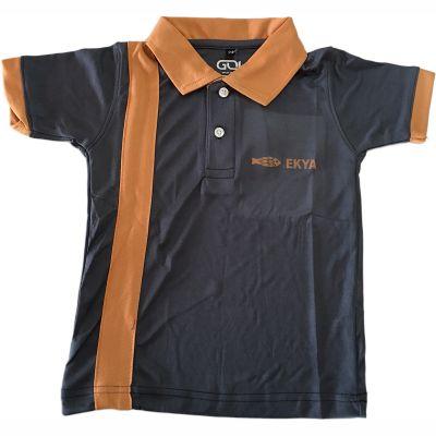 GOL Ekya School T-Shirt - Orange (Size 38 to 50)