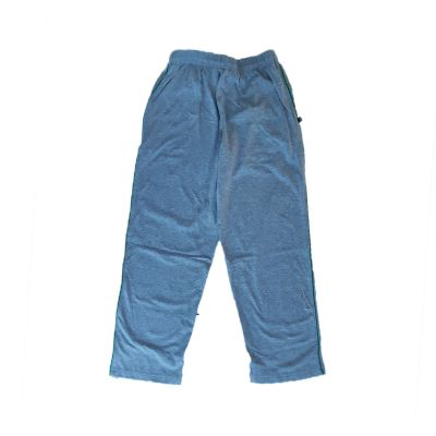 GCIS House Color Track Pant (I To XII) - Grey & Green (Size 24 To 28)