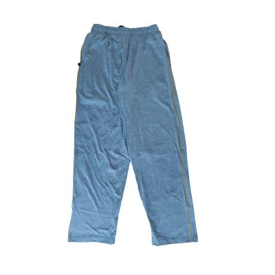 GCIS House Color Track Pant (I To XII) - Grey & Yellow (Size 24 To 28)