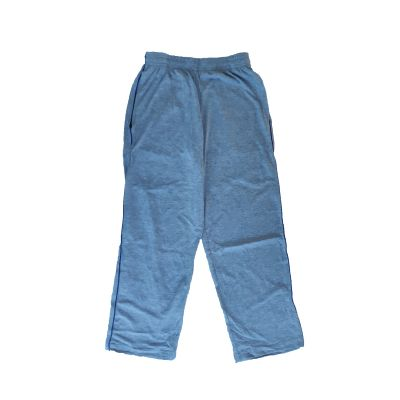 GCIS House Color Track Pant (I To XII) - Grey & Blue (Size 24 To 28)