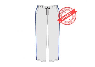 GCIS House Color Track Pant (I To XII) - Grey & Blue (Size 38 To 48)
