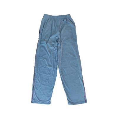 GCIS House Color Track Pant (I To XII) - Grey & Red (Size 30 To 36)