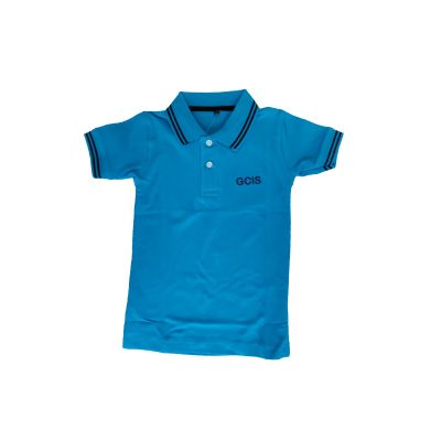 GCIS Junior T-Shirt (Nursery To UKG) - Blue (Size 22 To 28)