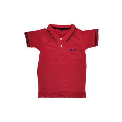 GCIS Junior T-Shirt (Nursery To UKG) - Red (Size 22 To 28)