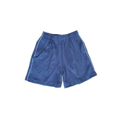 GCIS Junior Short (Nursery To UKG) - Navy Blue & Blue (Size 20 To 28)
