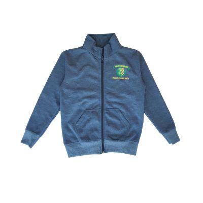 GCIS Sports Sweatshirt (Nursery To XII) - Grey (Size 30 To 36)