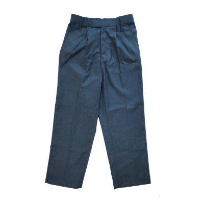 GCIS Formal Boys Pant (V To XII) - Grey (Size 38*30 To 40*32)