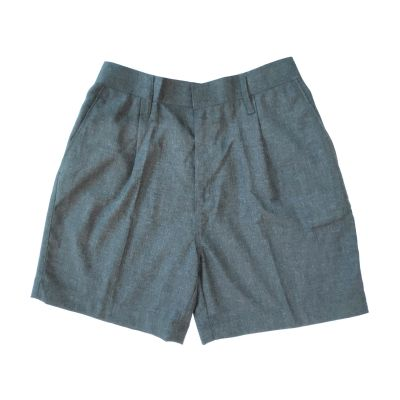 GCIS Formal Boys Half Pant (Nursery To IV) - Grey (Size 11*21 To 13*34)