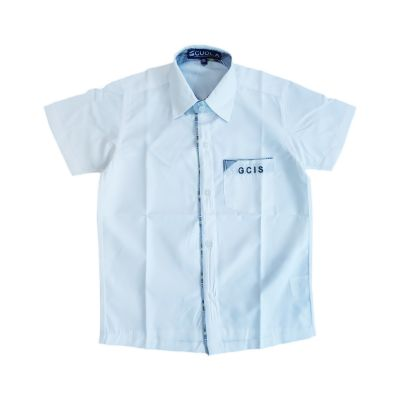 GCIS Formal Boys Shirt (Nursery To XII) - White (Size 38 To 44)