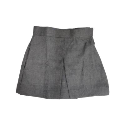 GCIS Formal Skirt (I To XII) - Grey (Size 12*23 To 14*27)