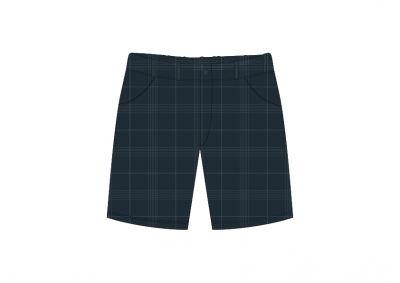 Sri Kumaran Formal Boys Half Pant ICSE - Grey (Size 16*30 To 18*36)
