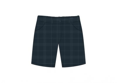 Sri Kumaran Formal Boys Half Pant ICSE - Grey (Size 20*30 To 20*36)