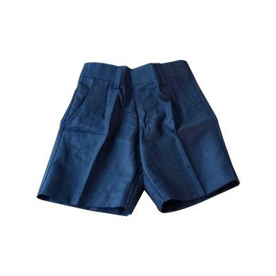 Sri Kumaran Sports Wednesday Short ICSE - Navy Blue (Size 10*20 To 16*27)