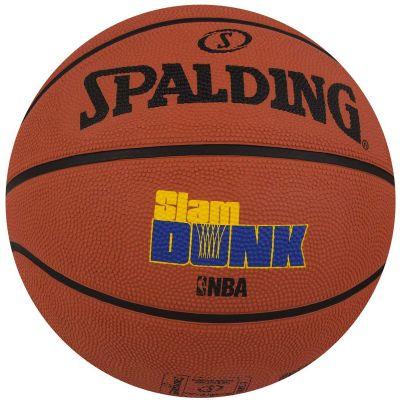 Spalding Slam Dunk Basketball - Brick - Size 7