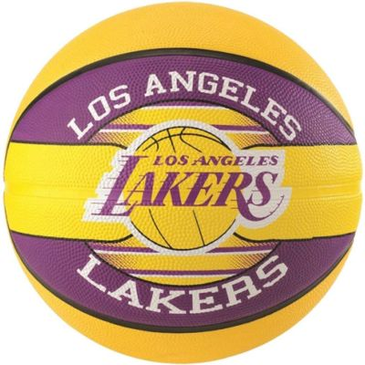 Spalding Los Angles Lakers Basketball - Purple & Yellow - Size 7