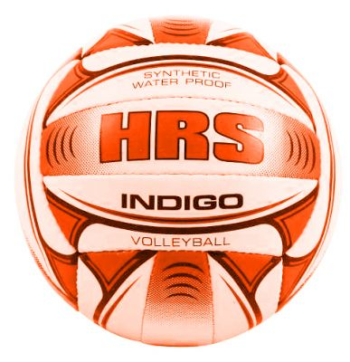 HRS Indigo Volleyball - White & Orange