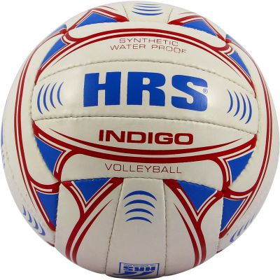 HRS Indigo Volleyball - White & Red