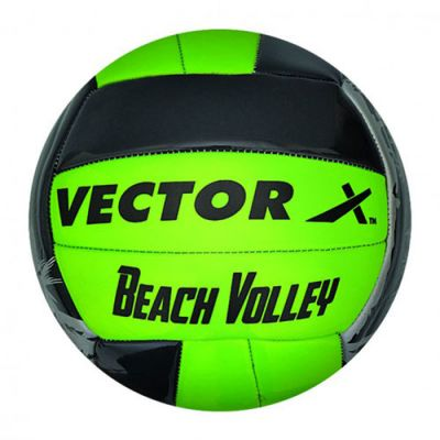 Vector-X Beach 18P Volleyball - Green & Black - 4