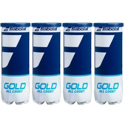 Babolat Gold All Court Dozen (4 Cans)